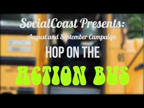 SocialCoast || Hop on the Action Bus