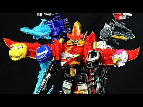 GOSEI GREAT MEGAZORD & ZORD VEHICLE COMBINATIONS! Megaforce Toys!