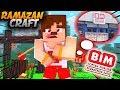 Minecraft - RAMAZANCRAFT #4 BİM 'den İFTARLIK ALIYORUZ !