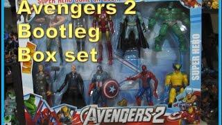 AVENGERS 2 Bootleg Box set  Super Circus Heroes Ac