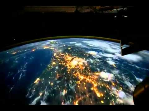 Vista Desde Un Satelite En Vivo