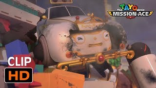 The Tayo Movie - the best survival moments! l The brave buses! l Tayo the Little Bus