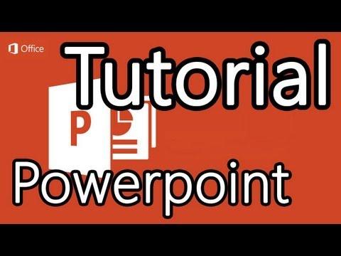 Tutorial Powerpoint 2013 Cómo hacer presentaciones en Powerpoint
