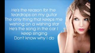 Teardrops On My Guitar - Taylor Swift [Lyrics]
