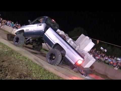 TUG OF WAR GONE WRONG - Dodge Truck Bends in Half!