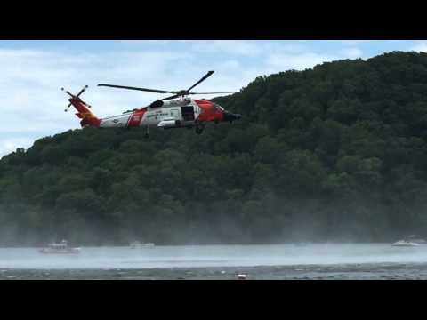 Claytor Lake Festival Coast Guard Rescue Drill