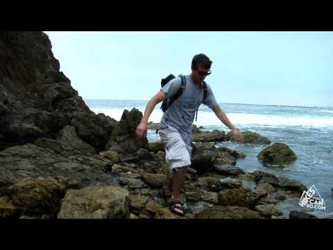 Los Angeles Area Beach Hiking - Orange County, Corona Del Mar