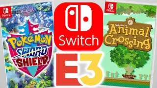Nintendo Switch E3 2019 Games!