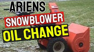 Ariens Snow Blowers Used St824le Snow Blowers