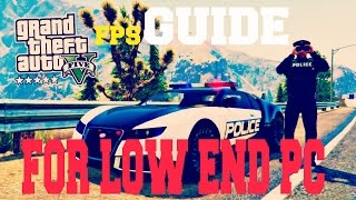 GTA V - How To Get Better Fps for LOW END PC (2017) No Lag, No Fps Drop, No Stuttering