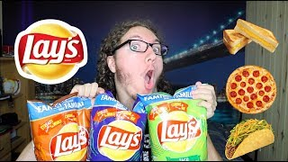 TESTING WEIRD FLAVORED CHIPS