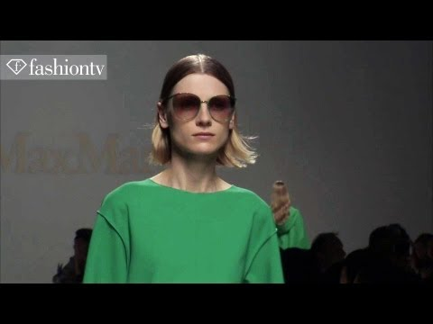 Max Mara Spring/Summer 2014 | Milan Fashion Week MFW | FashionTV