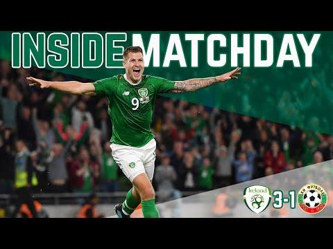 INSIDE MATCHDAY | IRELAND VS BULGARIA