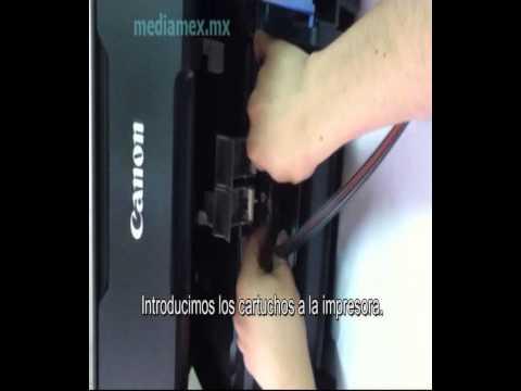 Como iniciar con la impresora Canon pixma Mp 230