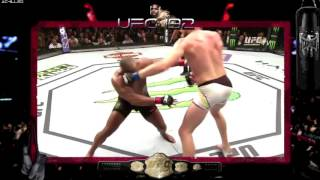 UFC 192  Daniel Cormier vs Alexander Gustafsson Fight Highlights