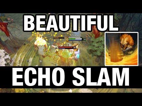BEAUTIFUL ECHO SLAM - MinD_ContRoL Plays Earthshaker - Dota 2