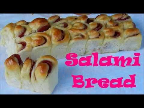 SALAMI BREAD  How To Make Easy Salami Bread Mak Gembul Recipe Video