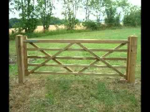 Wooden Gates Youtube