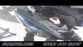How to remove headlights on a 2013 Hyundai Genesis Coupe