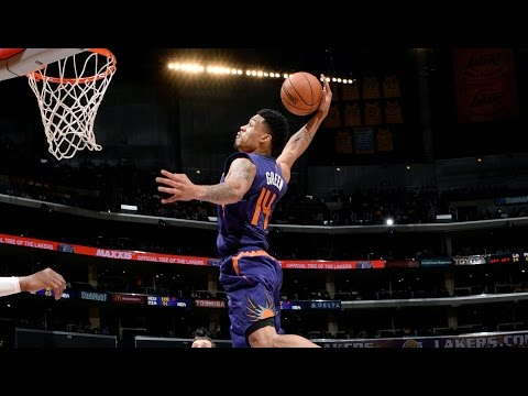 Gerald Green Throws Down 2 Crazy Dunks vs Lakers!