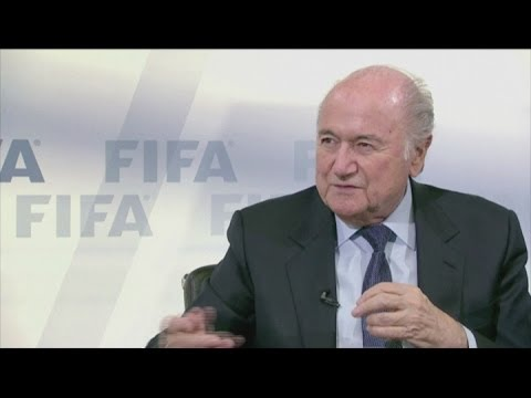 Sepp Blatter pays tribute to Eusebio