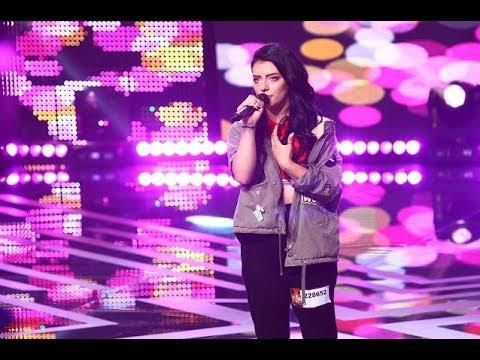 """Lady Gaga: """"Million Reasons"""". Vezi aici cum cântă Alina Mocanu, la X Factor!"""