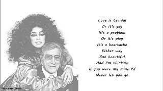 Lady Gaga & Tony Bennett - But Beautiful Lyrics