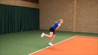 Recruitment College tennis Emma Kranendonk.wmv