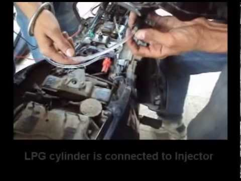 World's First Lpg Fuel Injected Bike(bajaj Pulsar 220) | Bhopali Engineers video