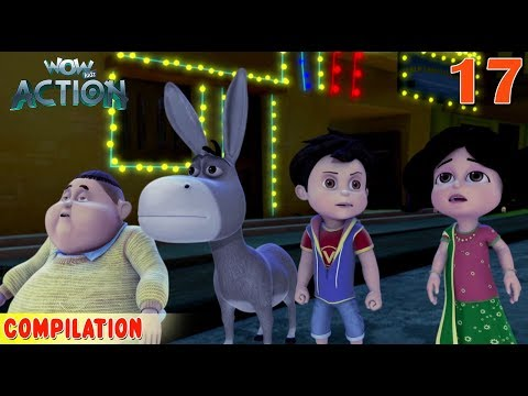 Vir : The Robot Boy   Vir Action Collection - 17   Action series   WowKidz Action