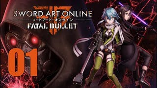 Sword Art Online: Fatal Bullet - Let's Play Part 1: Gun Gale Online