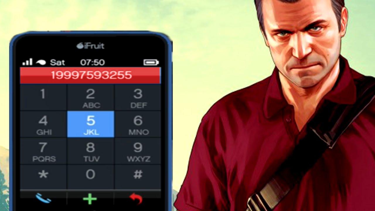 GTA 5 - Cell Phone Cheats LEAKED - YouTube