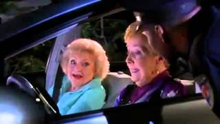 Hot in Cleveland- Betty White and Georgia Engel vs. Police Man