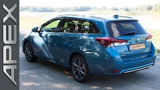 TOYOTA AURIS TOURING SPORTS 1.8 HYBRID - Review (English Subtitles) (2015)