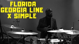 Download Lagu Florida Georgia Line - Simple (DrumCover) Gratis STAFABAND