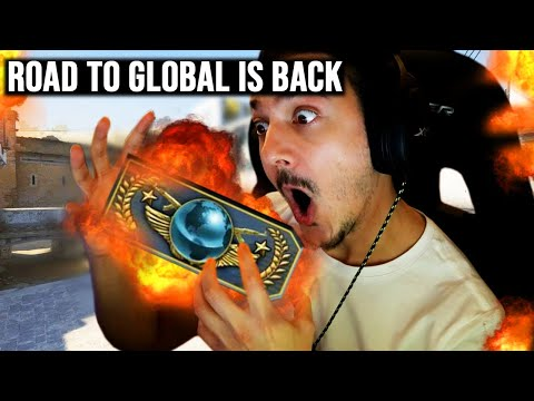 ROAD TO GLOBAL ELITE IS BACK!!! (CS GO Matchmaking Gameplay + Funny Moments)