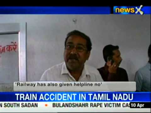11 bogies of passenger train derails in Tamil Nadu