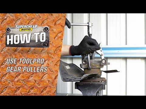 How to use ToolPRO Gear Pullers