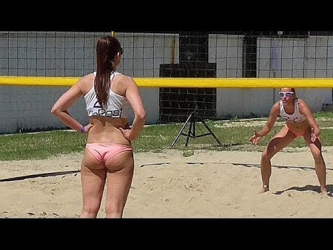 Beach Volleyball Girls Nice Moments Close-Ups thumbnail