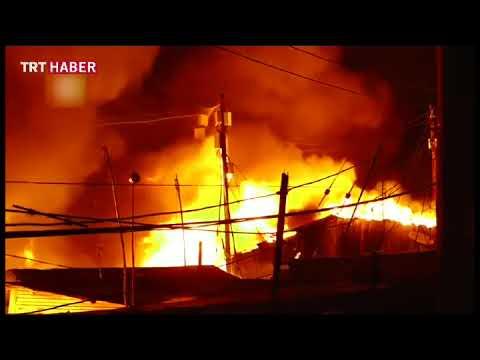 Kenya'da yangın 6 binden fazla kişiyi evsiz bıraktı