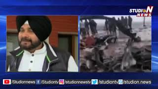 India Fires on Navjot Singh Sidhu Over Comments on Pulwama Attack