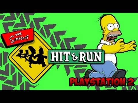 Simpsons Hit And Run - O Gta Do Simpsons - PS2