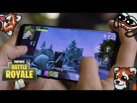 MOJA PIERWSZA GRA NA TELEFONIE! - Fortnite Mobile!