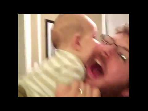 Most funny Videos of babies with their dads   By MFV   2017