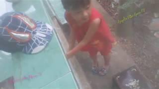 Hai bé sửu nhi chơi đùa  ✌ Nguyễn Văn Ngoan TV