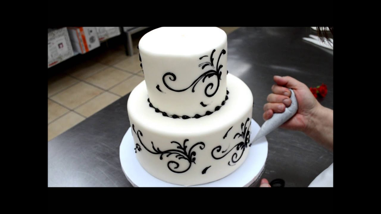Cake Design How To Make : Easy To Make Wedding Cake - 5 Min Simple Beautiful Wedding ...