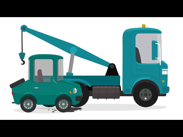 Доктор Машинкова: мультфильмы для детей про эвакуатор, машинку и техобслуживание в автосервисе