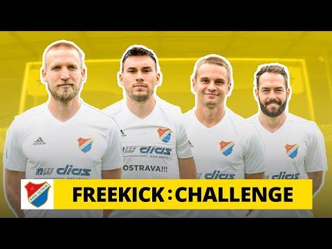 Freekick Challenge v Ostravě: Zkus to po zemi, zeď vyskočí!