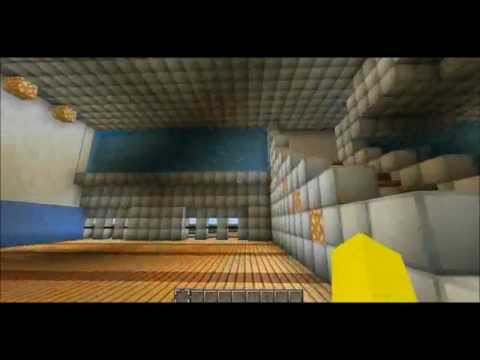 Minecraft London 2012 Olympic Water Polo Centre
