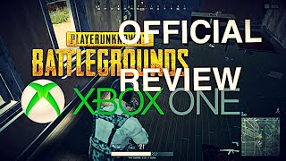 OFFICIAL PUBG REVIEW! XBOX ONE PUBG RUNDOWN/REVIEW! (XBOX ONE)